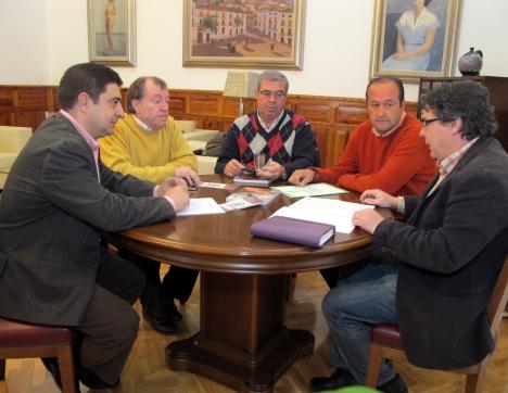 20121228 Reunión Federación Andaluza Bolos Serranos  PACO REYES