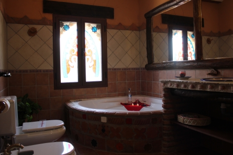 Casa La Alacena -. Baño con bañera hidromasaje 2