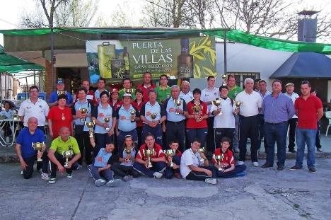 Galardonados-XV-Copa-Federación-de-bolo-andaluz MOGÓN 2013