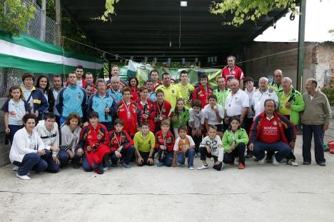 campeonato andalucia bolo andaluz montaña 2013 foto familia CHILLUEVAR 2013