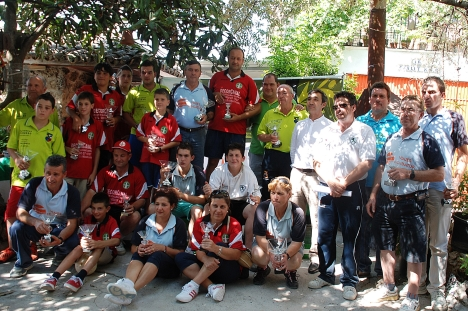 Gadadores IV Copa Diputacion de bolo andaluz VILLANUEVA 2013