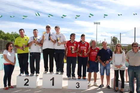 podium-1ª-masculina--nacional-bolo-andaluz-parejas-VILA-REALl-castellon 2013