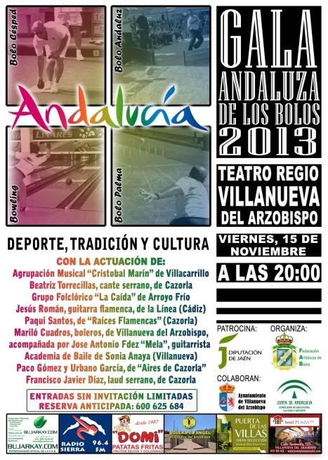 Cartel Gala reducido 2013