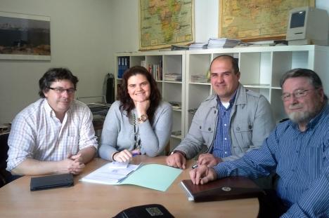 Reunión Oneco Proyecto Europeo de Deportes ORIGEN MEDIEVAL SEVILLA 2014