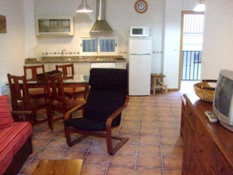 cazorla14 Apart. 2 Salón Cocina 2