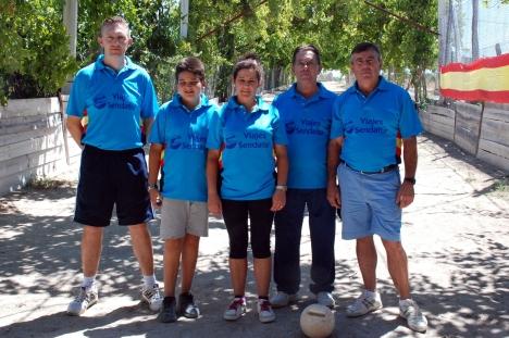 Club Viajes Sendatur El Ferial campeones nacionales CHILLUEVAR 2014