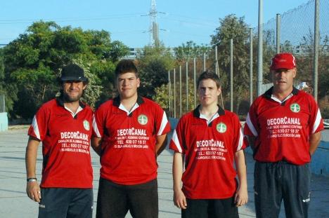 Decorcanal-Sierra-de-las-Villas-campeones-Liga-Nacional-masculina-de-bolo-andaluz BEAS 2014