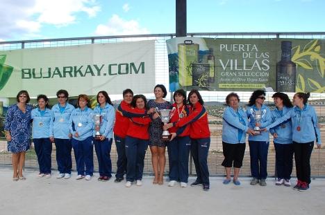Podium-femenino-Nacional-Equipos-Bolo-Andaluz-2014 PEAL