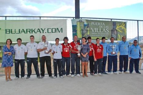 Podium-masculino-Nacional-Equipos-Bolo-Andaluz-2014 PEAL